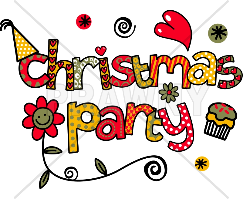 Free Christmas Lunch Clipart